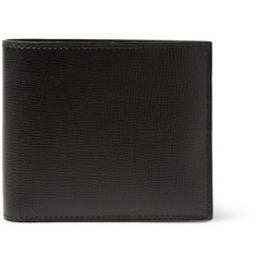 Valextra Cross-Grain Leather Billfold Wallet