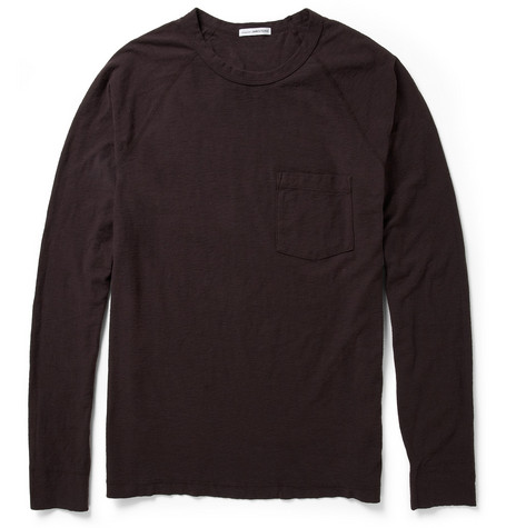 James Perse Cotton-Jersey Long-Sleeved T-Shirt