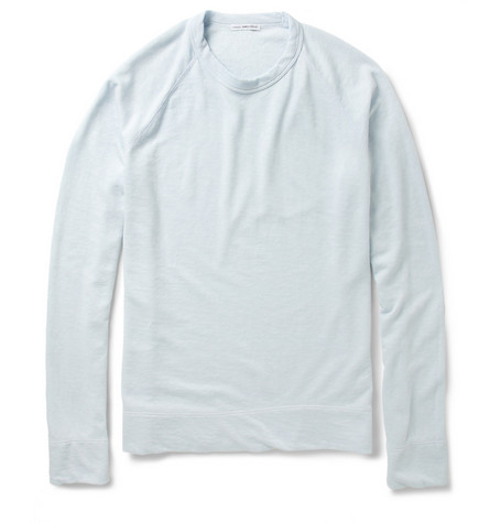 James Perse Loopback-Cotton Sweatshirt