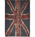 Alexander McQueen Large Printed Modal Scarf