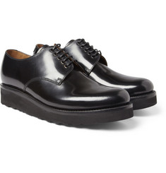 Grenson Finbar Wedge-Sole Leather Derby Shoes