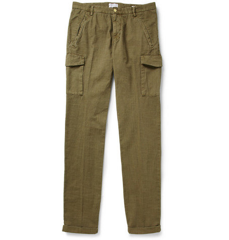 Gant Rugger Slim-Fit Cotton-Twill Cargo Trousers