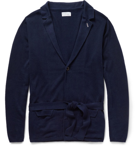 Gant Rugger Cotton and Silk-Blend Cardigan