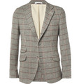 Gant Rugger - Slim-Fit Prince Of Wales Check Wool Blazer