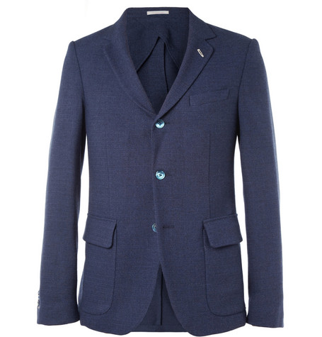 Gant Rugger Slim-Fit Unstructured Wool-Blend Blazer