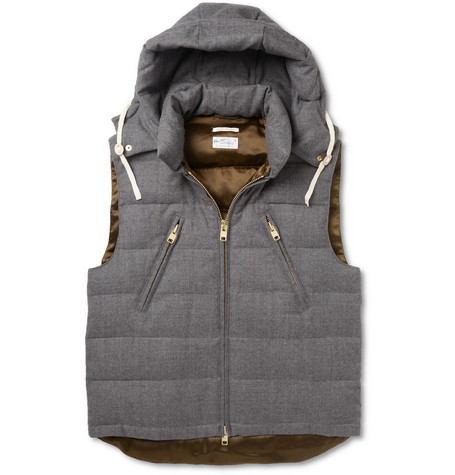 Gant Rugger Down-Filled Wool Gilet