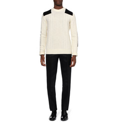 Alexander McQueen Aran Knit Wool Sweater