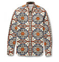 Alexander McQueen - Slim-Fit Printed Cotton Shirt
