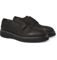 Alexander McQueen Nubuck Derbie Shoes