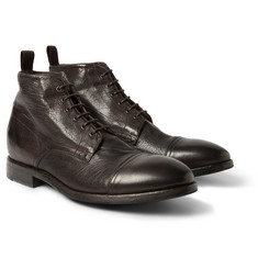 Paul Smith Shoes & Accessories Cesar Textured-Leather Boots