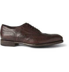 Paul Smith Shoes & Accessories Torrance Burnished Leather Wingtip Brogues