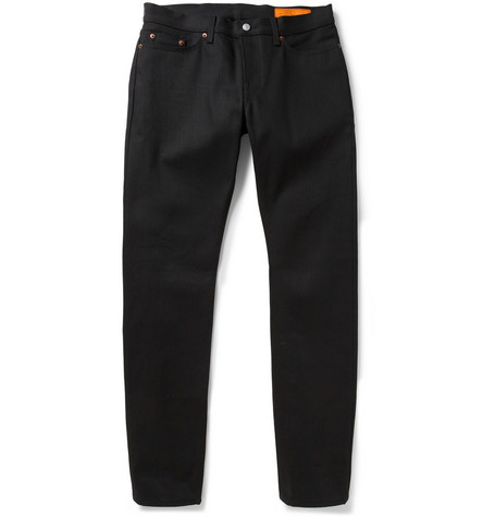 Jean Shop Slim-Fit Dry Selvedge Denim Jeans