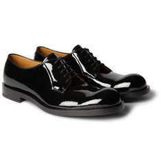 Jil Sander Betis Patent-Leather Derby Shoes