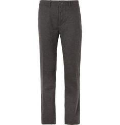Massimo Alba Winch Regular-Fit Check Wool-Blend Trousers