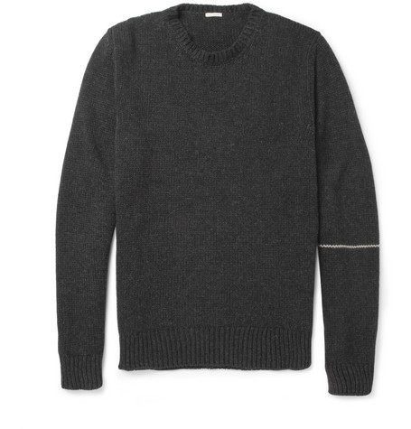 Massimo Alba Helmut Striped Crew Neck Sweater