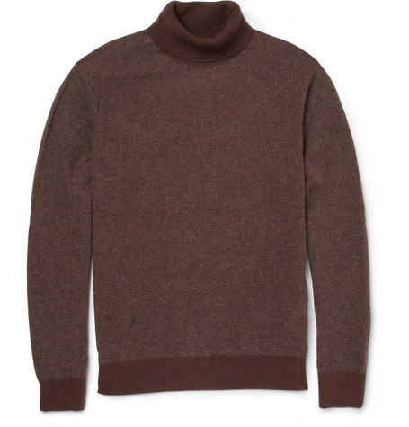 Massimo Alba Quebec Rollneck Cashmere Sweater