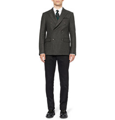 Massimo Alba Aston Double-Breasted Wool Blazer