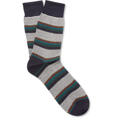 Missoni Patterned-Knit Cotton Socks