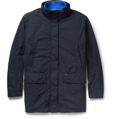 Faconnable Hooded Jacket with Detachable Down-Filled Lining