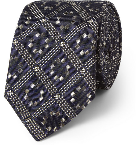 Marwood Patterned Silk Tie