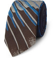 Marwood - Wing-Patterned Woven-Silk Tie