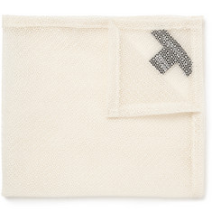 Marwood Cotton Lace Pocket Square