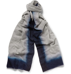 Richard James Dip-Dyed Cashmere Scarf
