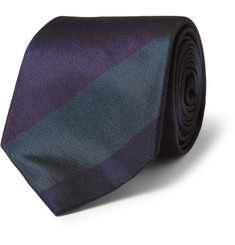 Richard James Striped Silk Tie