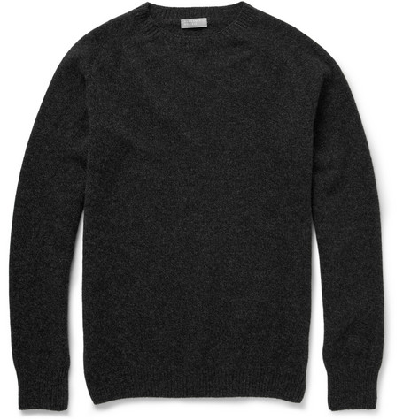 Margaret Howell Merino Wool And Cashmere-Blend Crew Neck Sweater