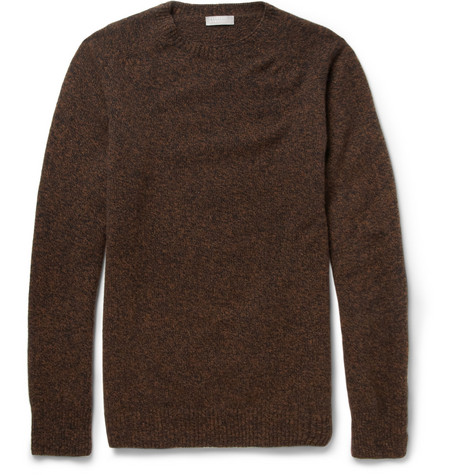 Margaret Howell Wool and Cashmere-Blend Knitted Sweater