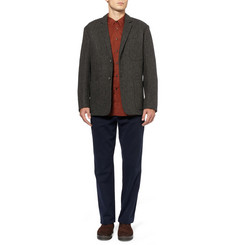 Margaret Howell Oversized Harris Tweed Blazer