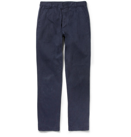 Margaret Howell MHL Regular-Fit Cotton-Drill Trousers