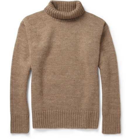 Margaret Howell MHL Knitted-Wool Rollneck Sweater