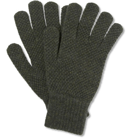 Margaret Howell Knitted Lambswool Gloves