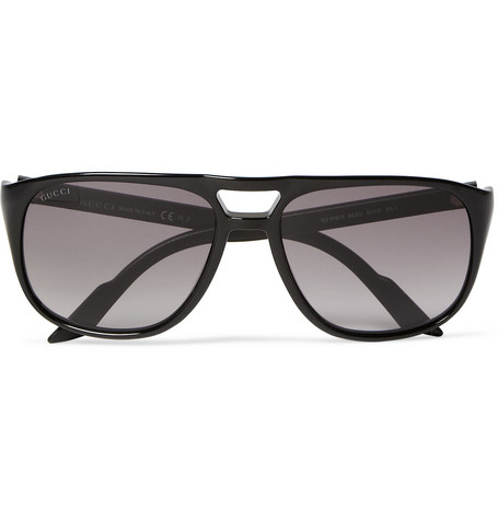 Gucci Acetate Aviator Sunglasses