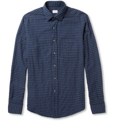 Slowear Kenit Striped Cotton-Blend Shirt