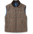 Incotex - Montedoro Reversible Padded Wool-Blend Gilet