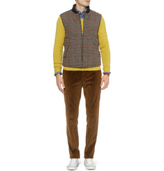 Slowear Montedoro Reversible Padded Wool-Blend Gilet