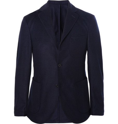 Slowear Montedoro Slim-Fit Unstructured Wool Blazer