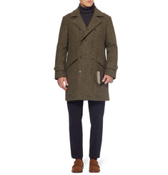 Slowear Montedoro Unstructured Tweed Coat