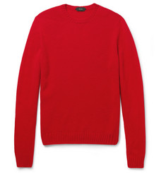 Slowear Zanone Wool Crew Neck Sweater