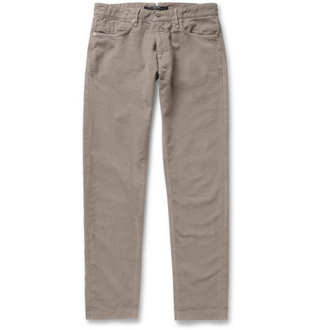 Slowear Incotex Slim-Fit Moleskin Trousers