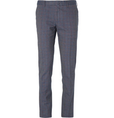 Slowear Incotex Skinny-Fit Cotton-Blend Check Trousers