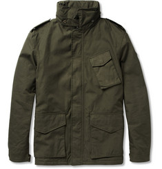 NN.07 Atle Padded Cotton-Blend Field Jacket