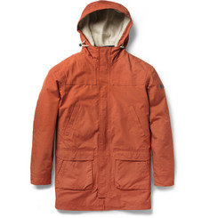 NN.07 Jon Waterproof Cotton-Blend Coat with Detachable Quilted Lining