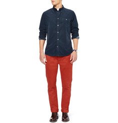 NN.07 Derek Pin-Dot Corduroy Shirt
