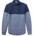 NN.07 Clark Block-Colour Cotton Shirt