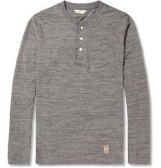 NN.07 Nor Marl Cotton-Jersey Henley T-Shirt