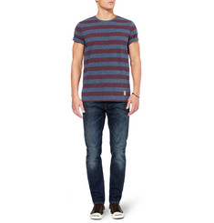 NN.07 Striped Cotton-Jersey T-shirt