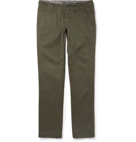 NN.07 Simon Brushed Cotton-Twill Chinos